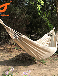 SWIFT Outdoor® 100% Cotton mesh outdoor 2 Person Portable Rope Hammock  Camping Hammock