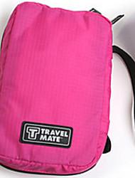 Frasqueira de ViagemForOrganizadores para Viagem Tecido Azul / Verde / Vermelho / Rosa 20*13*5