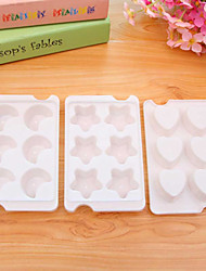 White  Moon Pentacle Love Shape Ice Cube Tray Ice Cream Multi Freeze Moulds Kitchen Party Bar