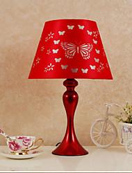 IKEA fashion Bedroom Bedside Lamp Wedding Wedding Room Big Red Qing