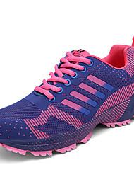 Zapatos Running Tul Morado / Rojo / Azul Marino Mujer