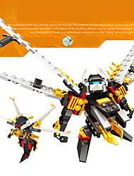 un jeu de construction de maquettes jouets pour les enfants le cadeau blocs de construction abeilles tueuses en plastique super-robots de