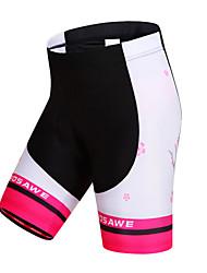 Wosawe® Cuissard Rembourré de Cyclisme Femme Respirable / Séchage rapide / Pare-vent / Limite les Bactéries VéloCuissard / Short / Shorts