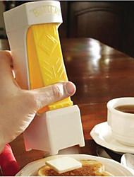 um clique manteiga cortador slicer - fatias c / um aperto - funciona como prato de manteiga