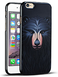 Embossed Bear Protective Back Cover Soft iPhone Case for iPhone 6S/iPhone 6