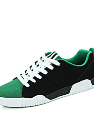 Running Shoes Men's Shoes Wedding / Party & Evening / Athletic / Casual Leather Fashion Sneakers Black / Green / Red