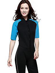 Ultraviolet Resinstant Diving Suits Dive Skins for Women Chinlon/Elastance Short Sleeve