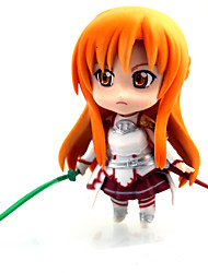 Sword Art Online Asuna Yuuki 10CM POP Doll Model(Buy 1 To Send 2)3PCS