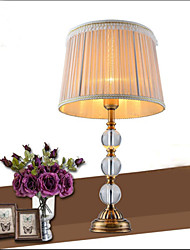 The Desk lamp Decoration lamp Simple European Crystal Copper