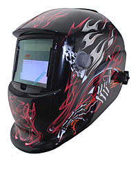 Black Fire Skull Welding Tools Solar LI battery Auto Darkening Tig Mig Mma Welding Mask/Helmets/Cap/Goggle/Eyes Mask