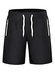 Men's Running Shorts Quick Dry Breathable Softness Wind Proof Compression Lightweight Materials Sweat-wicking Shorts Bottoms forYoga