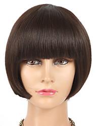 Glueless Virgin Hair Full Lace Human Hair Wigs Bob for Black Woman Short Cut Human Hair Lace Wig in Stock
