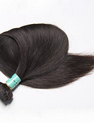 "1 PC / Los 100g 12 ""- 30"" malaysisches reines Haar gerade Menschenhaare weft 100% malaysisches Haar webt"
