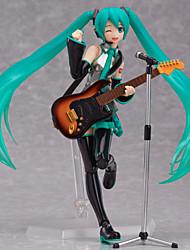 Figures Animé Action Inspiré par Vocaloid Hatsune Miku PVC CM Jouets modèle Jouets DIY