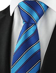 New Striped Navy Mens Tie Formal Suits Necktie Party Wedding Holiday Gift KT1078