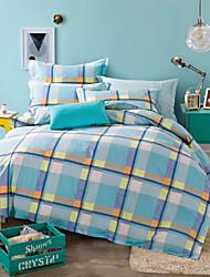 100% Cotton 2016 new Bedclothes 4pcs Queen Size  Bedding Set Duvet Cover Set