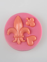 Plam and Peach Fondant Cake Chocolate Silicone Molds,Decoration Tools Bakeware