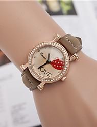 L.WEST Ladies' Heart-shaped Diamonds Quartz Watch Cool Watches Unique Watches