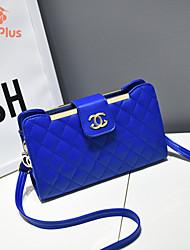 M.Plus® Women's Fashion Plaid PU Leather Shoulder Messenger Bag