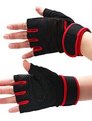 Перчатки для бега Анти-скольжение Нейлон Серебристый / черный увядает / Коричневый