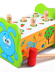 Children's Educational Hamster Percussion Fruitworm Large Wooden Toys on Early Childhood