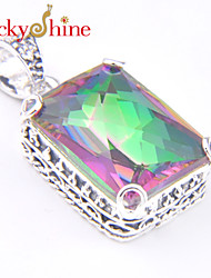Necklace Pendant Necklaces / Pendants Jewelry Wedding / Party / Daily / Casual / Sports Gem Silver 1pc Gift