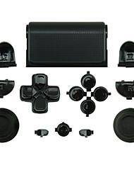 Ersatz-Controller Fall für PS4-Steuerung PS4 Fall schwarz / rot / weiß