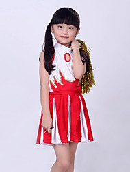 Cheerleader Costumes Children's Fashion Performance 2 Pieces Outfits Dance Costumes