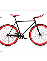 """motos artes tl ™ 700c fixa * 17 """"* bicicletas da cidade 52 centímetros bicicleta bicicleta de estrada colorido da bicicleta 13 cores"""