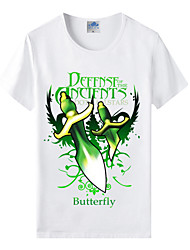 Flaming Light® World of Warcraft Wow Series Heroes Butterfly Artifact Cosplay T-Shirt Cotton Lycra