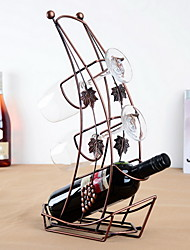 Boat Design Vintage Pure Iron Wine Rack