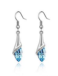 European Style Luxury Elegant Fashion Shiny Crystal Butterfly Earrings