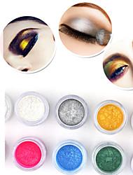 Red&Black® Eye Shadow Shimmer/Dry/Mineral Eyeshadow/Eyeliner Powder Gorgeous Brilliant Shining Fine Smokey/Fairy/Party makeup