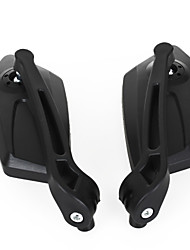 Two Rear-View Mirrors Blue For Yamaha Honda Kawasaki