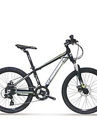 """Twitter® ciclismo 24 velocidades de freio de disco duplo de liga de alumínio de 24 """"bicicleta de montanha"""