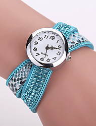 Xu™ Ladies' Fashion Serpentine Diamonds Bracelet Quartz Watch