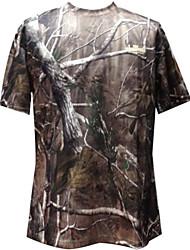 camuflagem árvore de manga curta t-shirt