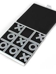 viajando tac toe jogos de tabuleiro de alumínio tic