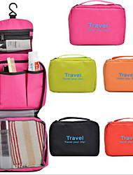 Travel Packing Organizer / Inflated Mat Travel Storage Fabric Black / Yellow / Orange