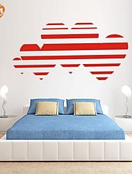 Romance / De moda Pegatinas de pared Calcomanías de Aviones para Pared,PVC S:27*55cm / M:42*85cm / L:55*112cm