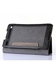 novo caso da tampa do projeto para tab2 Lenovo a8 couro pu ficar protetora da pele, caso tablet para guia Lenovo 2 a8-50