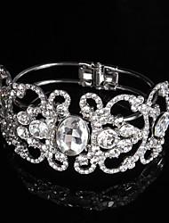 Women's Cuff / Chain Bracelet Alloy Rhinestone