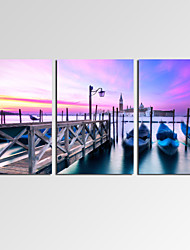 VISUAL STAR®Venice at Duck Canvas Wall Art for Home Decoration Beauty City Art Print Ready to Hang
