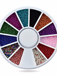 1whee caviar beads nail decorations-Bijoux pour ongles-Doigt- enAdorable-6cm wheel