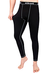 Wosawe® Cycling Pants Unisex Thermal / Warm / Compression BikePants/Trousers/Overtrousers / Base Layers / Compression Clothing / Tights /