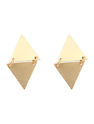 Earring Drop Earrings Jewelry Women Wedding / Party / Daily / Casual / Sports Copper 1 pair Gold