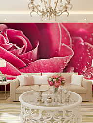 JAMMORY Art Deco Wallpaper Contemporary Wall Covering,Other A Large Mural Wallpaper Rose Garden