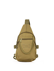 Clothin Shoulder Bag for Hiking Traveling Outdoor Sports Black Khaki Camouflage