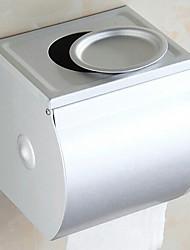 Держатель для туалетной бумаги Анодированное Крепление на стену 13*23*18cm Алюминий Современный