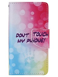 Fingerprint Painted PU Phone Case for Sony Xperia Z5 Compact/Z5